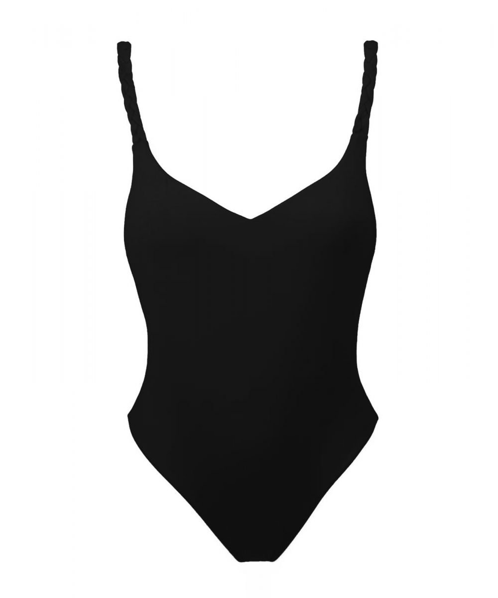 costume intero nero spalline intrecciate a mano made in italy swimwear one piece black swimsuit black bikini elegant swimsuit resortwear summer bali 2020 costume con fiori bikini with flowers flower swimsuit costume fatto a mano handmade swimwear kinda 3d swimwear