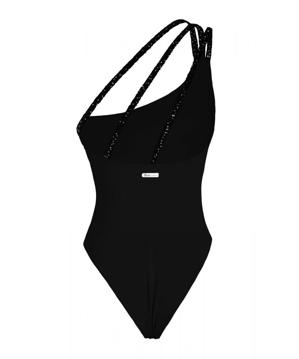 Etoile one piece swimsuit white black salmon one shoulder bikini summer 2020 2021 costume intero monospalla nero bianco salmone rosa arancio nero skims bodysuit kinda 3d swimwear
