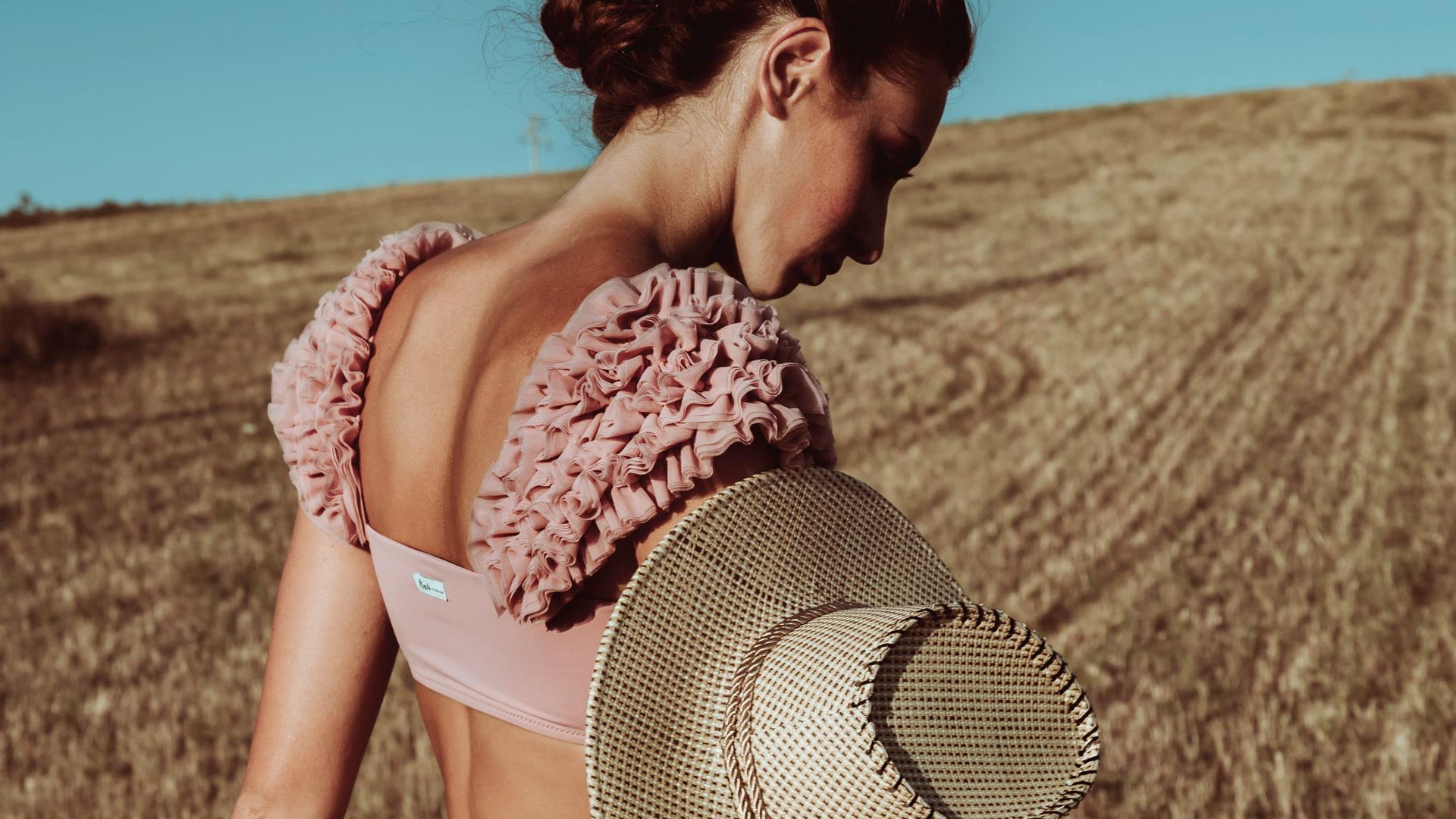 Scarlet Pink Bikini