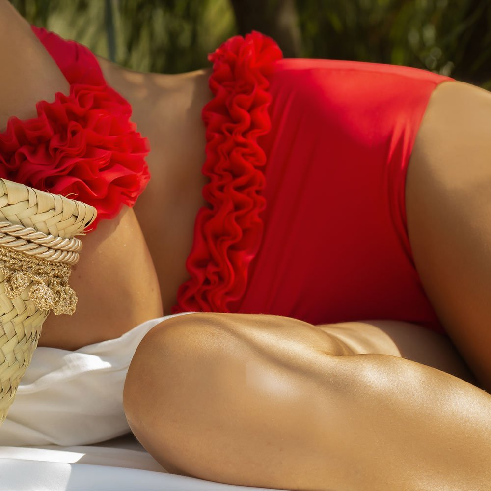 Diva bikini rosso kinda 3d swimwear