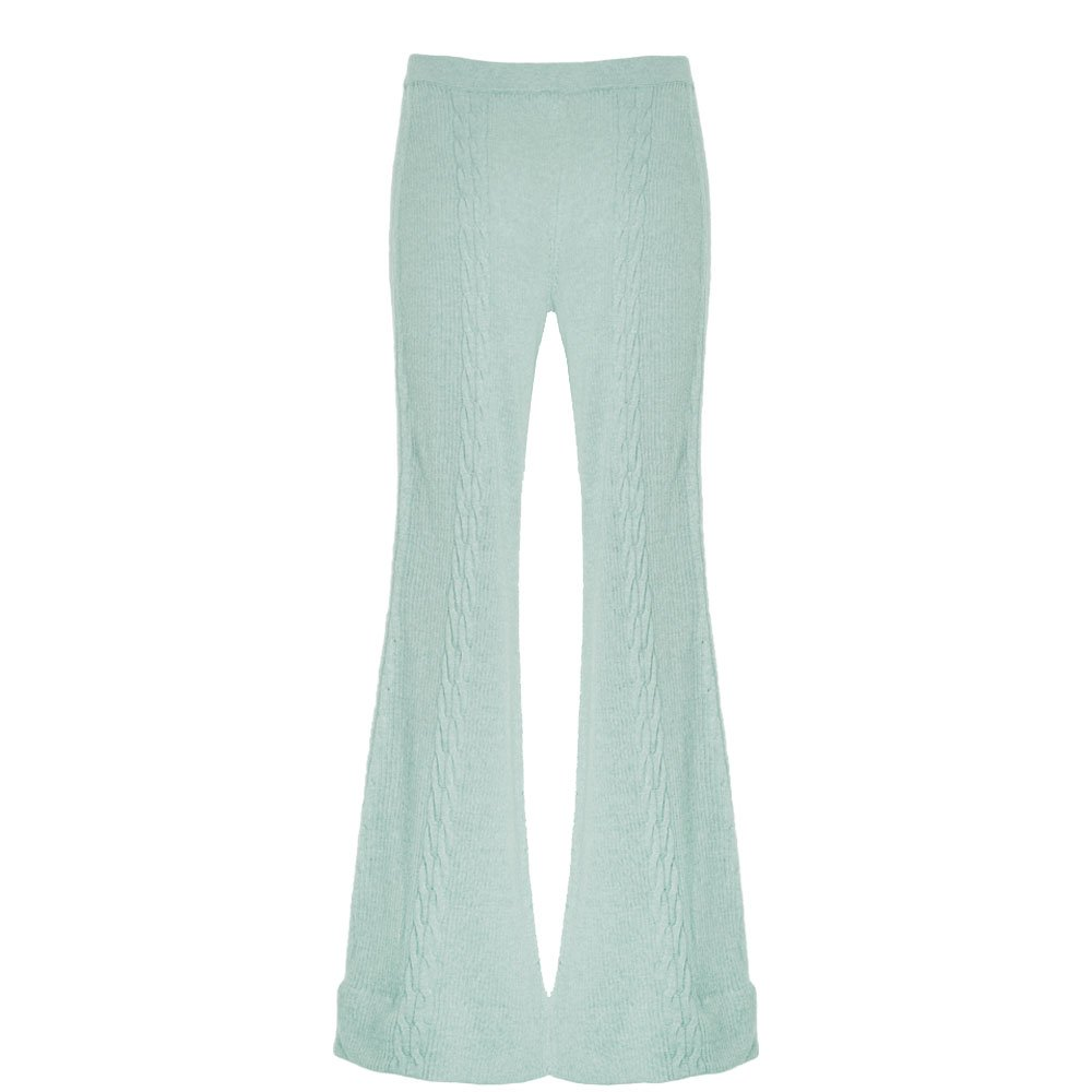 Tush Pantaloni Knitwear Mint_front 2