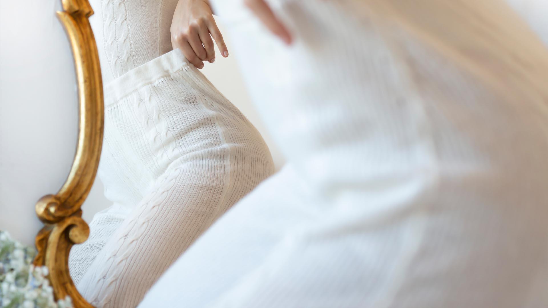 Tush Pantalone morbido Panna