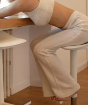 kinda pantaloni lunghi morbidi casa knitted loungewear trousers loungewear set chic