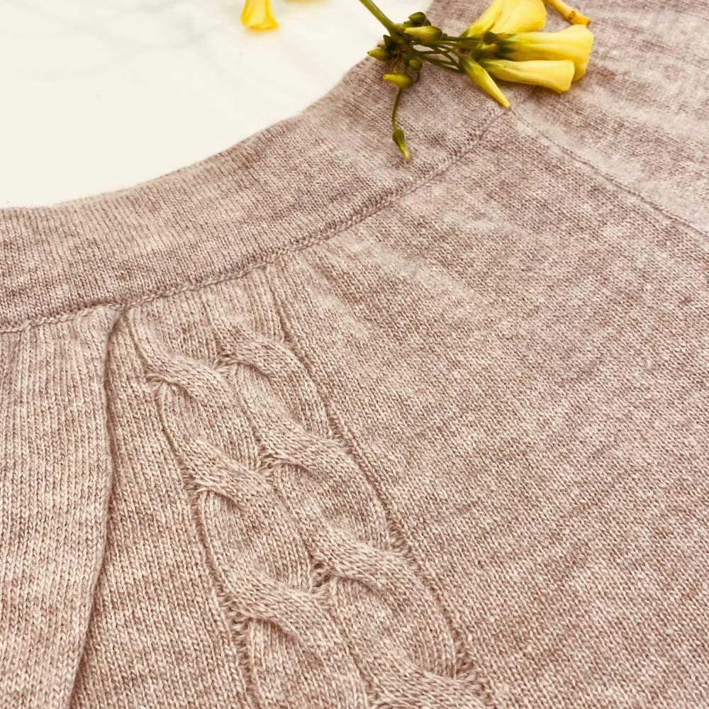 knitted pants kinda loungewear set