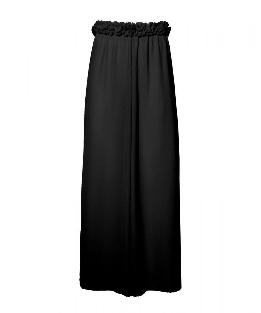 Blink black georgette trousers kinda 3d swimwear