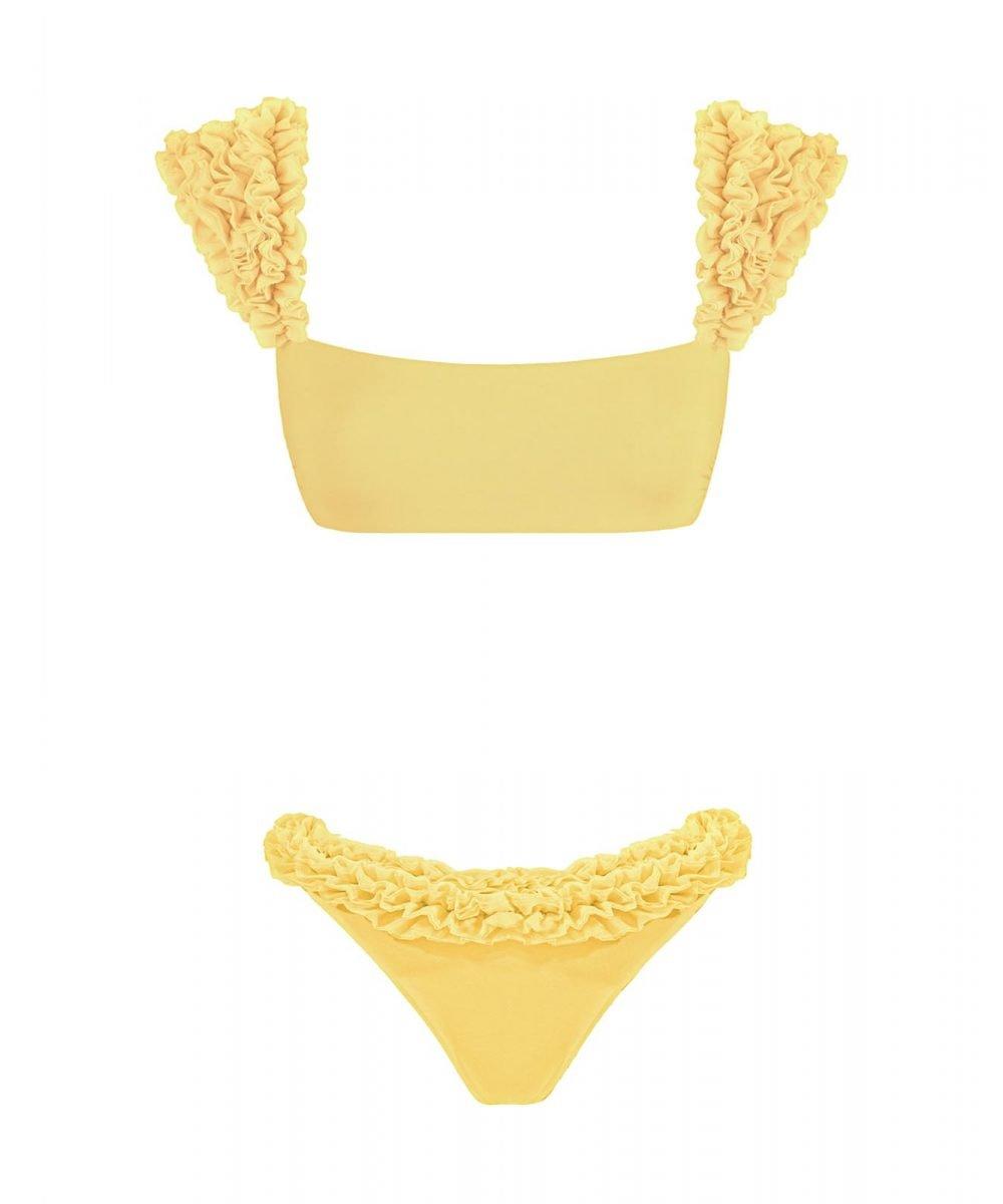 Bikini giallo Scarlet Kinda 3D Swimwear yellow swimwsuit
