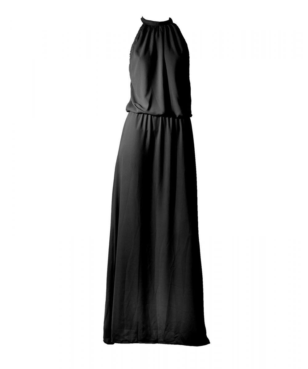 Stardust Black abito estivo lungo long summer dress Kinda 3D Swimwear