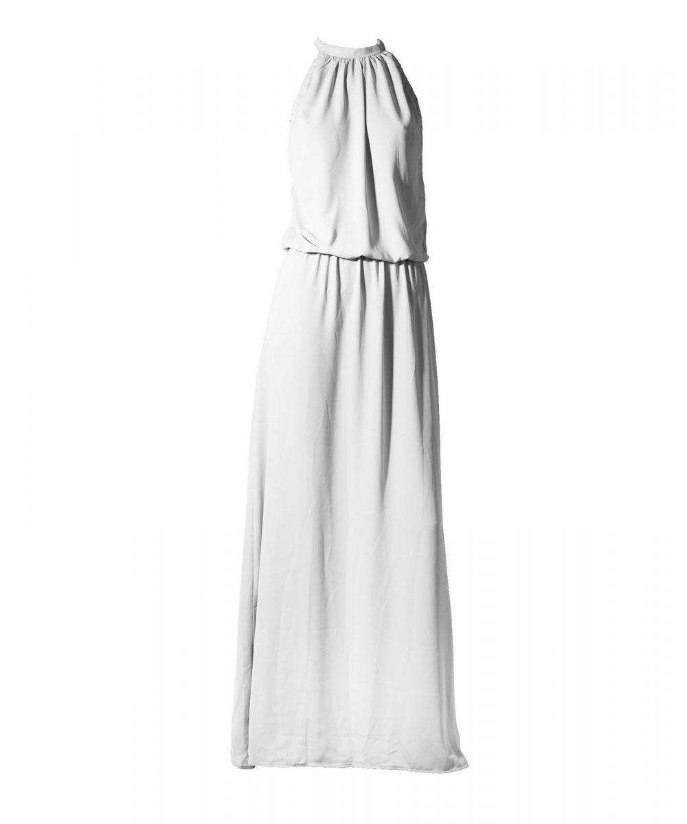 Stardust abito estivo bianco lungo long summer dress Kinda 3D Swimwear